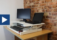 Using The Standing Desk