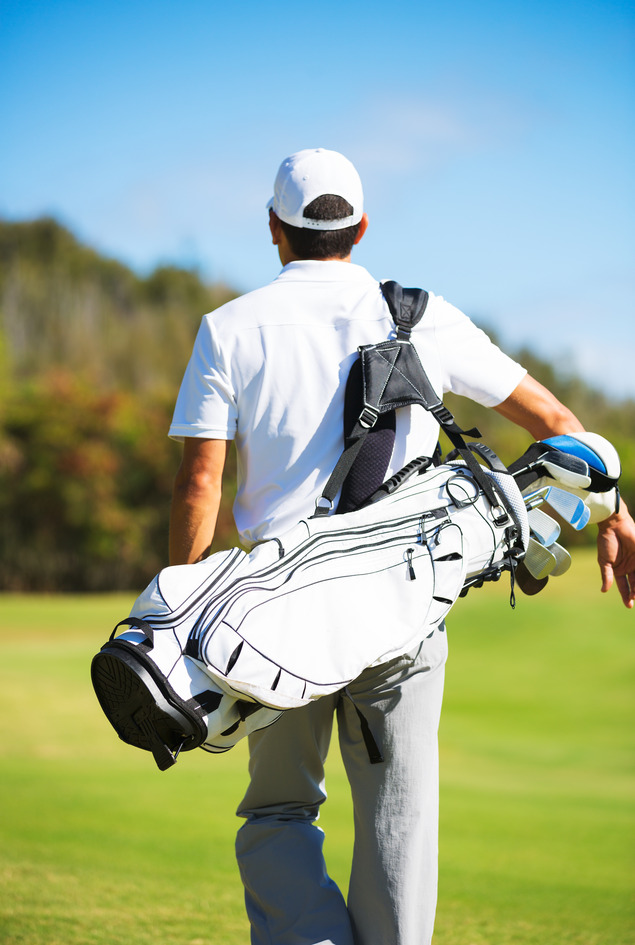 Improve your golf swing with good posture